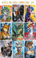Badges by Spikie