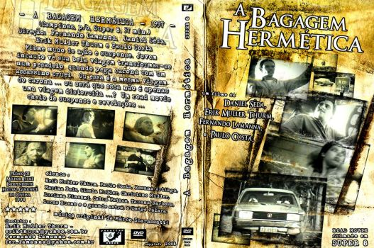 A Bagagem Hermetica DVD Cover Artwork by DigitalSkeleton