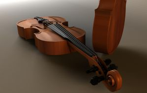 Violin Modelling by ctl3d