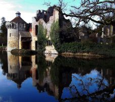 Scotney Castle by Moose-Art