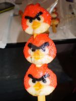 Angry Birds chicken ball by anemoneploy