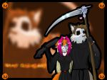 Halloween Wallpaper. by Foxxie-Angel