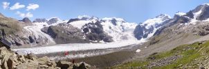 Boval Hutte II Panorama by HghlnDR