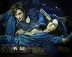 Robsten on the couch by EternityEternity