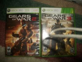 Gears of war 2 and 3 video games by pedrom123