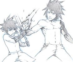 Youtube Art: Arithus vs Sonji by ronaproject