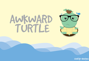 Awkward Turtles by xtotallybored