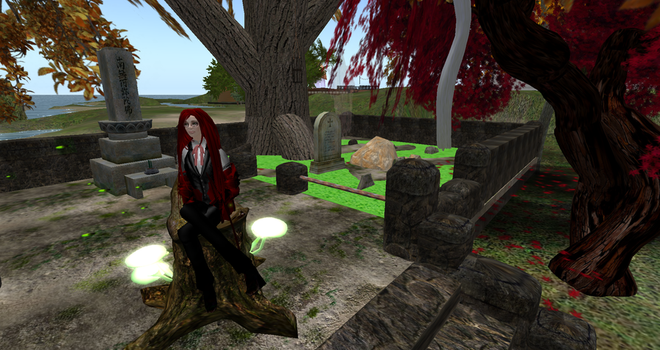 Grell in Second Life by hippiewitch