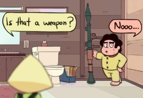Steven Universe: Is That A Weapon by MarikBentusi