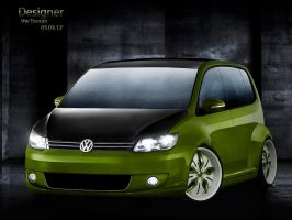 Volkswagen Touran DUB Style by apple-yigit-jack