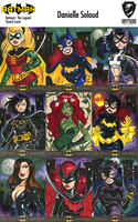 Batman Sketch Cards Preview by dsoloud