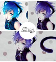 2.action-psd by xFluffyBunnyx