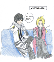 The waiting room by Hagaluz
