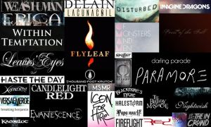 Bands by ForeverFallen16