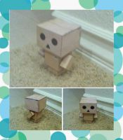 Danbo Papercraft by whatonearth