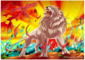 Jungle Emperor Leo -Our True KING- by FleshCreature