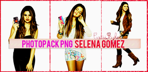 PHOTOPACK PNG SELENA GOMEZ by CatiiStyles