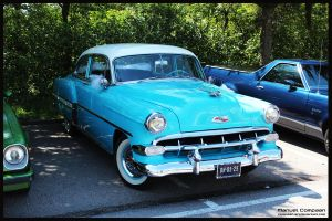 1954 Chevroley Bel Air by compaan-art