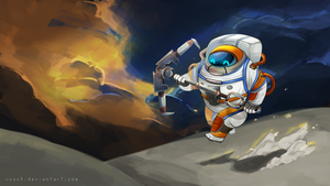 AstroNautilus by vSock