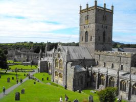 St Davids Cathedral by Kevin-Welch