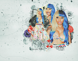 nicki minaj blend 62 by nikito0o