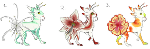 Flowertail Adopts -CLOSED- by SummerAdopts