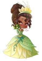 : Disney Doll : Tiana by MissElysium