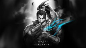 Yasuo Wallpaper by wacalac