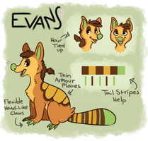 2013 Evans Ref by GemFeathers