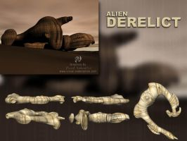 Alien Derelict 3D DXF Model by sicklilmonky