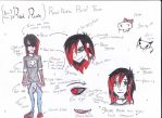 Red refsheet. by TehMagicalToaster