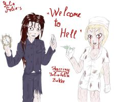Welcome to HELL by Yulia-Felix