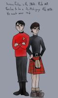 Scotty and Jamie by SmudgeThistle