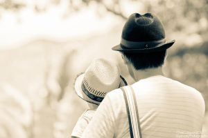 Father and Son: Candid by Mgbedt420