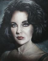 Liz Taylor by Drochfuil