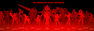 The CoDD: Character Silhouettes + Size Comparison by Nsio