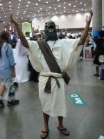 Otakon 2009 Raptor Jesus by Ho-ohLover