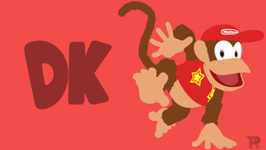 Diddy Kong [Commission] by turpinator77