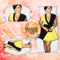 Pack DemiLovato - NeonLightsPNG'S by SoffMalik