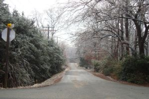 Iced Road by Q99