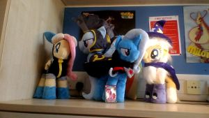 Collection of Plushies made by Finnickie! by TheCelestialWolf