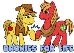 Bronies 4 Life Badge by ScuttlebuttInk