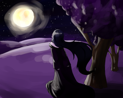 Man in the Moon by oORedSkinnyJeansOo