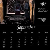 Drow Calendar 09 - Sep by Umrae-Thara