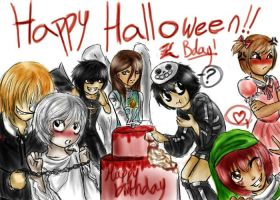 Happy Halloween - Death Note by eternitymaze