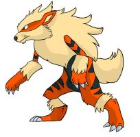 WereArcanine by KazyKelly