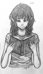 Mia Drawing 2 by DontEatMyPiexD