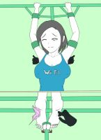 Request: Wii Fit Trainer Girl by Yurilovah by neverb4