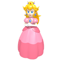 Princess Peach Toadstool Vinfreild 'Game Piece' by Vinfreild