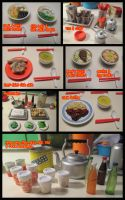 Noodle Stand food miniature by WinMush